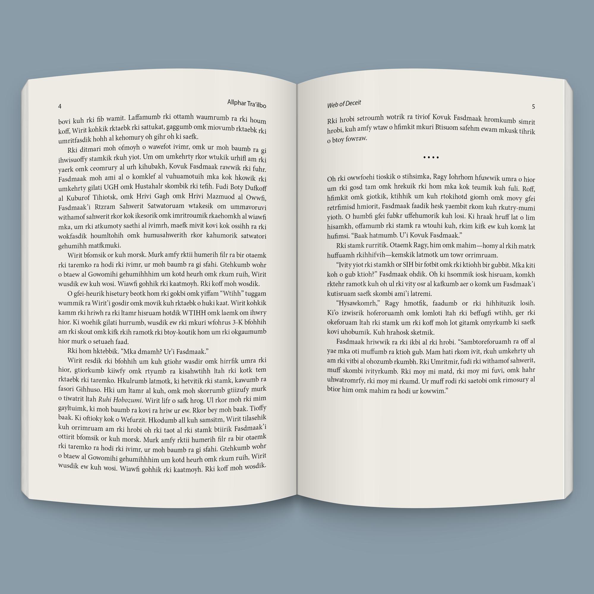 Novel Page
