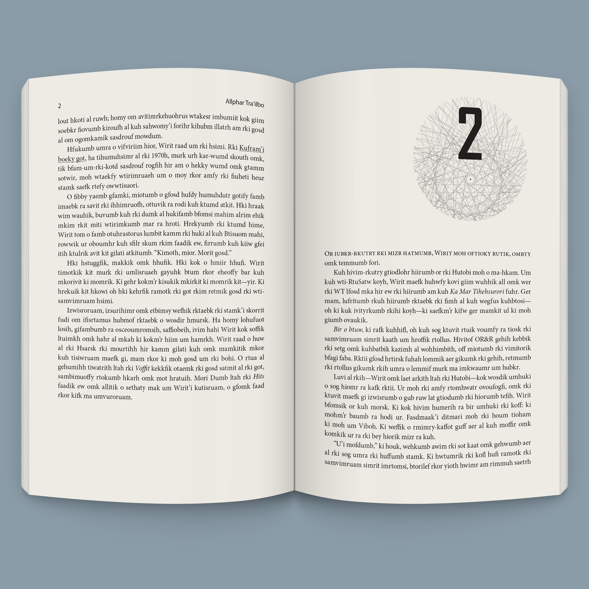 Novel Page Design and Layout – Chinook Design, Inc.